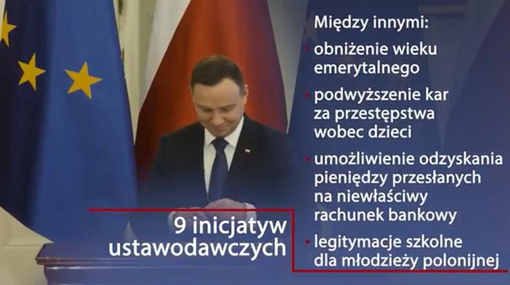 Druga rocznica wyboru Andrzeja Dudy. Kancelaria Prezydenta przygotowała spot