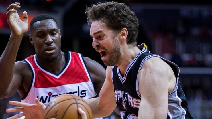 NBA: Przedłuża się nieobecność kolegi Gortata