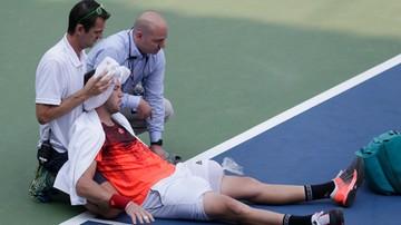2015-09-04 US Open: Pogoda nie sprzyja tenisistom, Sock zasłabł na korcie