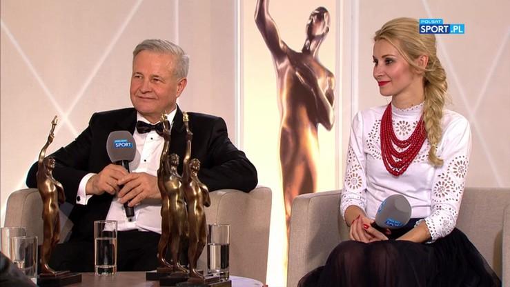 Ewa Bilan-Stoch i Apoloniusz Tajner w studiu Gali Mistrzów Sportu