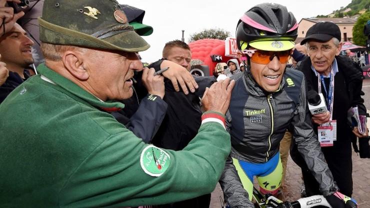 Giro d'Italia: Trzynasty etap dla Włocha. Contador stracił koszulkę lidera