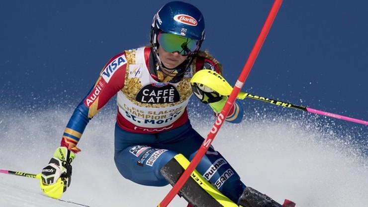 Alpejski PŚ: Shiffrin prowadzi po pierwszym przejeździe slalomu w Lienz