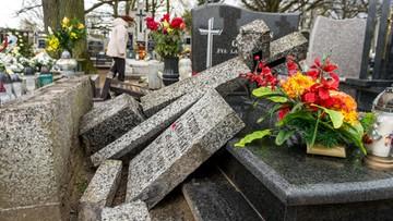 Zdewastowano cmentarz w Kujawsko-Pomorskiem