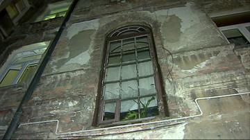 W Warszawie zawaliła się część kamienicy. Kilkadziesiąt osób ewakuowano