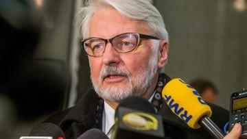 """15-11-2016 09:47 Szef MSZ ma wątpliwości, czy Tusk jest """"nasz"""". """"Nie odczuwamy, żeby dbał o interesy Polski w Brukseli"""""""