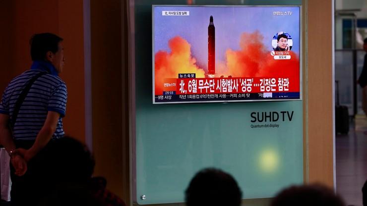 Rada Bezpieczeństwa ONZ potępiła próbę rakietową Korei Płn.