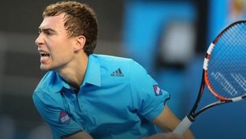 2015-10-27 Janowicz szybko pożegnał się z turniejem w Bazylei