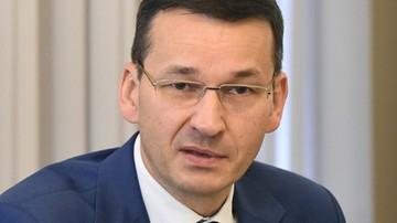 Morawiecki: pieniądze z eliminacji torebek foliowych zostaną przeznaczone na poprawę jakości powietrza