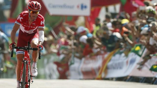 Vuelta a Espana - Łagutin wygrał ósmy etap, Quintana nowym liderem