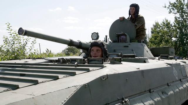 NATO przestrzega separatystów na Ukrainie i Rosję