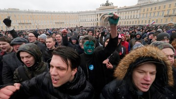 27-03-2017 10:22 Rosyjska prasa: Kreml przed dylematem, jak reagować na protesty
