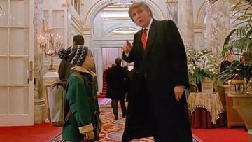 Trump i Kevin. Filmowe epizody prezydenta elekta