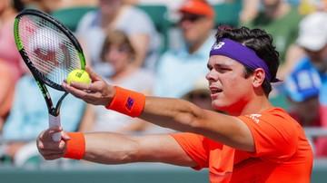 2017-03-26 ATP w Miami: Raonic przegrał z kontuzją uda
