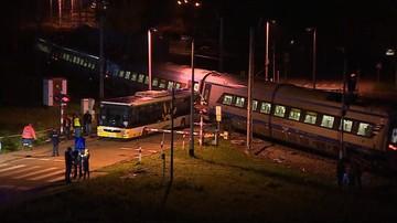Zderzenie autobusu i Pendolino w Modlinie. Trwa ustalanie przyczyn