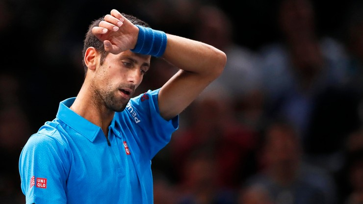 ATP w Paryżu: Djokovic wyeliminowany w ćwierćfinale