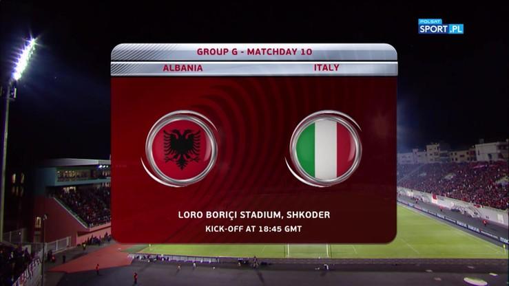 Albania - Włochy 0:1. Skrót meczu