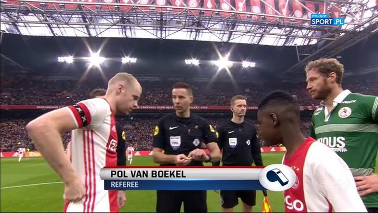 Ajax Amsterdam - Sparta Rotterdam 2:0. Skrót meczu