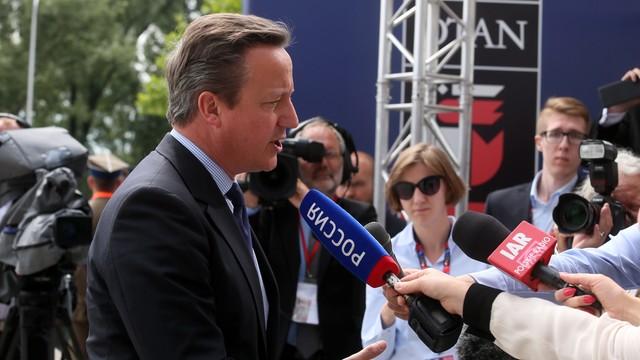 Cameron: po Brexicie zobowiązanie na rzecz obronności w Europie bez zmian