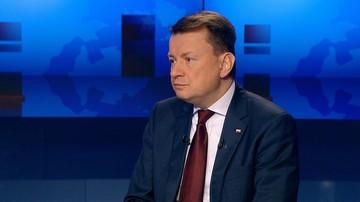 """24-11-2016 19:45 """"Odbieramy nienależne przywileje"""". Błaszczak o obniżeniu świadczeń byłym funkcjonariuszom PRL"""