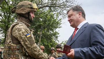 20-09-2017 18:19 Poroszenko: chcemy oprzeć się na pokojowym ramieniu ONZ