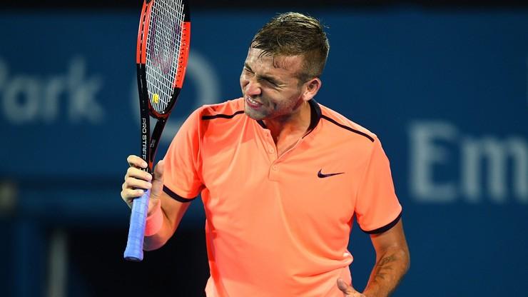 Brytyjski tenisista zawieszony na rok