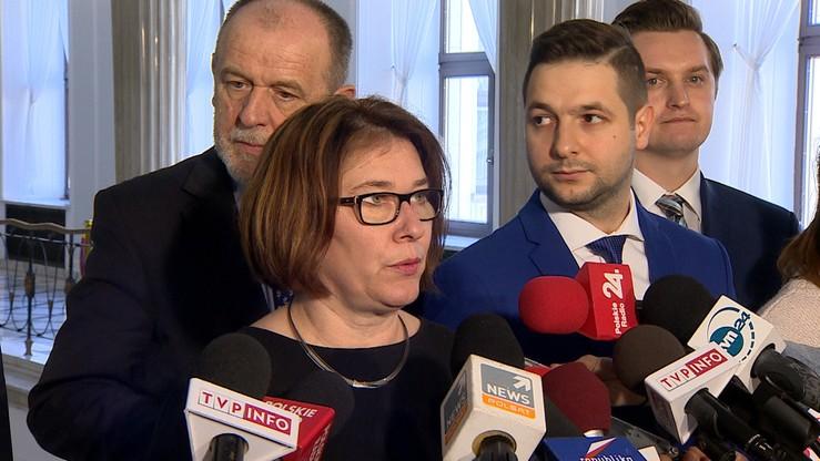 Mazurek: jestem przekonana, że rząd widział nieprawidłowości w KPRM
