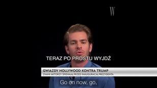 Gwiazdy Hollywood kontra Trump - niezwykła piosenka