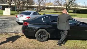 2017-03-29 Kierowca wiceministra łamie przepisy. Tuż po kolizji