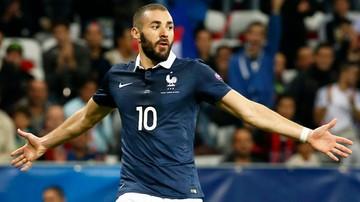 2015-11-05 Benzema i Valbuena nie zagrają w meczach z Niemcami i Anglią