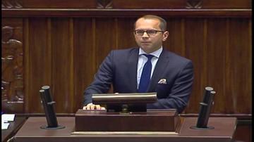 Michał Szczerba (PO): Jarosław Kaczyński jest headhunterem. Sam wybierze 15 sędziów do KRS.