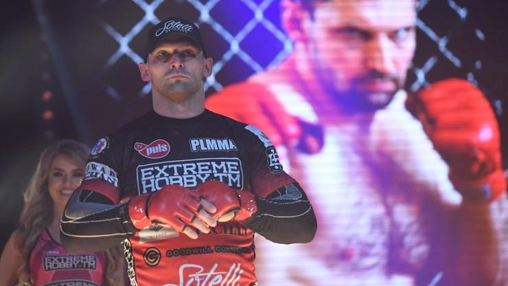 Pierwsza walka MMA pod ziemią! Kołecki poznał rywala