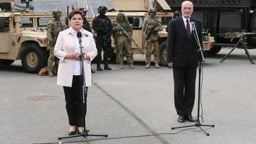 04-07-2016 21:07 Macierewicz: wniosek o wotum nieufności to okazja do przedstawienia dorobku rządu