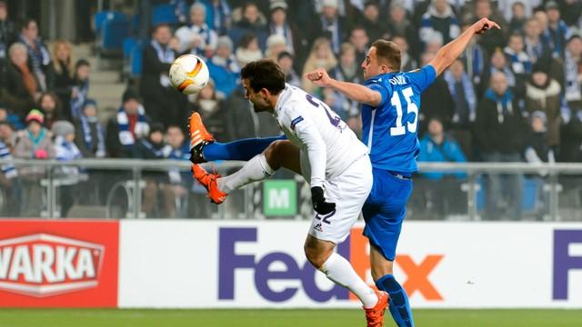 LE: Lech przegrał z Fiorentiną 0:2