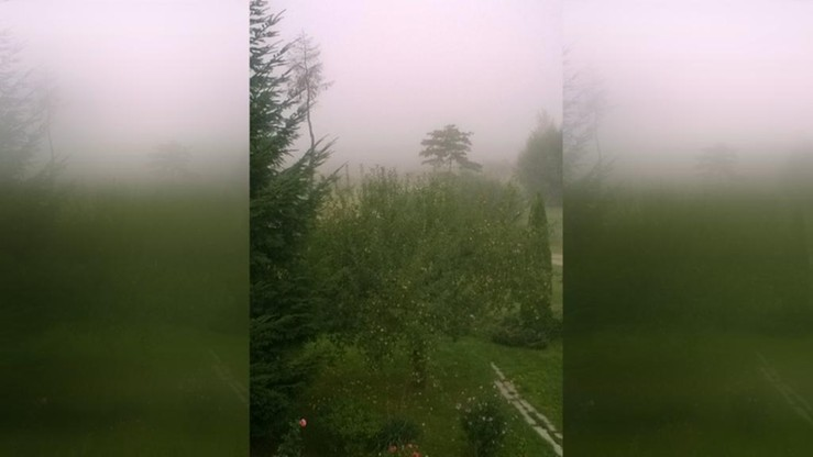 2016-09-08 Mgła gęsta jak mleko nad Podkarpaciem