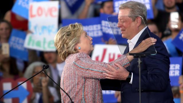 USA: Al Gore mocno zaangażowany w kampanię Clinton
