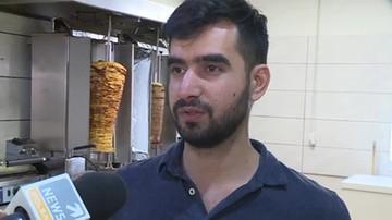 Bójka Afgańczyków w barze z kebabem. Jeden zaatakował drugiego nożem do cięcia mięsa