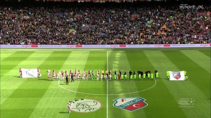 2016-04-17 Ajax Amsterdam - FC Utrecht 2:2. Skrót meczu
