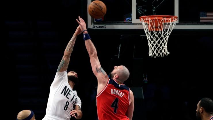 Gortat trzecim najcelniej rzucającym graczem w NBA