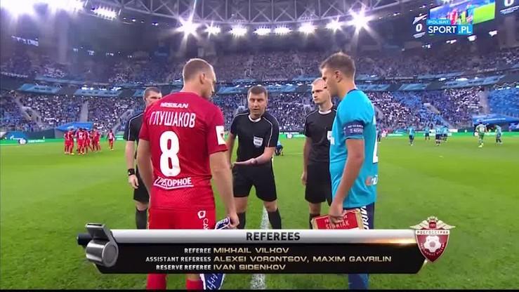 2017-08-06 Zenit Petersburg - Spartak Moskwa 5:1. Skrót meczu
