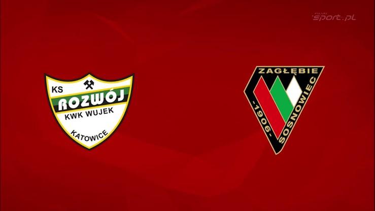 2015-10-05 Rozwój Katowice - Zagłębie Sosnowiec 0:1. Skrót meczu