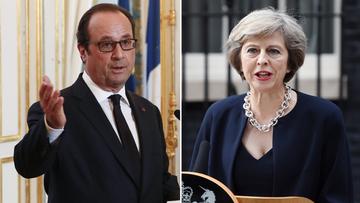 14-07-2016 05:14 Hollande apeluje do nowej brytyjskiej premier: rozpocznijmy jak najszybciej negocjacje ws. Brexitu