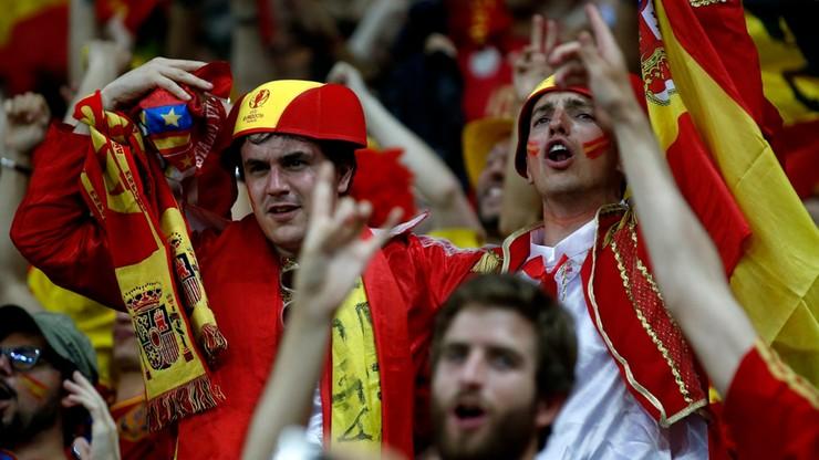 Euro 2016: Zatrzymano sześciu hiszpańskich kibiców