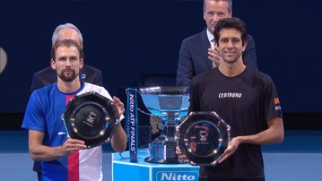 2017-11-19 ATP Finals: Kubot i Melo przegrali w finale