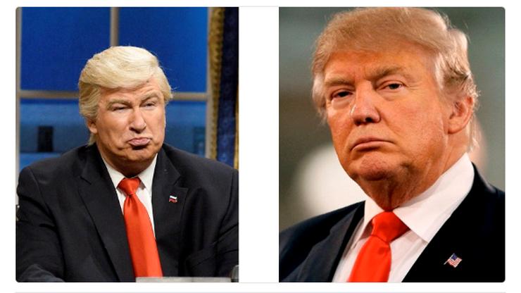 Pomylili Trumpa z przebranym aktorem. A to był Baldwin