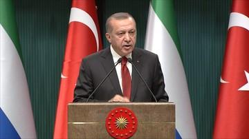 12-05-2017 11:49 Erdogan liczy na przełom w sporze z USA w związku z dozbrajaniem Kurdów