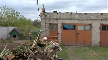 Nawałnice w województwie lubelskim. Trąba powietrzna zerwała dach w Hrubieszowie