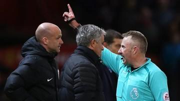 2016-11-28 Mourinho znów z zarzutami za niewłaściwe zachowanie