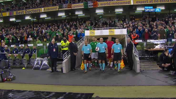 Irlandia - Dania 1:5. Skrót meczu