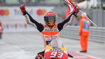 2017-09-10 MotoGP: Marquez wygrał deszczowe Grand Prix San Marino