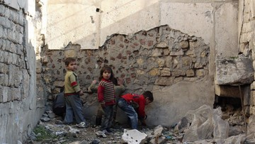 02-12-2016 19:43 Dzieci to 60 proc. uciekinierów ze wschodniego Aleppo